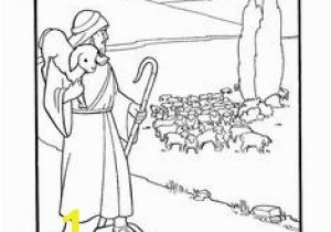 The Lost Sheep Coloring Page Parable Of the Lost Sheep Worksheet