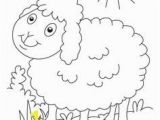 The Lost Sheep Coloring Page Sheep Printable Coloring Pages Patterns Pinterest