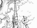 The Magic Tree House Coloring Pages Download Tree Coloring Pages