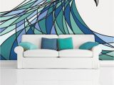 The Perfect Wave Wall Mural $350 Power Waves Wall Mural Decal Sticker Decani Ocean Wave