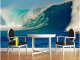 The Perfect Wave Wall Mural Three Dimensional 3d Sea Wave Tv Wall Mural 3d Wallpaper 3d Wall Papers for Tv Backdrop