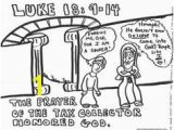 The Pharisee and the Tax Collector Coloring Page 48 Best Sunday School Images On Pinterest