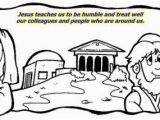 The Pharisee and the Tax Collector Coloring Page Unit 4 – the Parable Of the Pharisee and the Tax Collector
