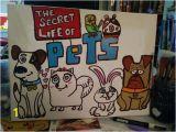 The Secret Life Of Pets Wall Murals Secret Life Of Pets 11×17 Canvas