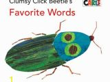 The Very Clumsy Click Beetle Coloring Pages הסופר Eric Carle