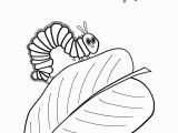 The Very Hungry Caterpillar Coloring Page 25 Awesome Picture Of Hungry Caterpillar Coloring Pages