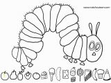 The Very Hungry Caterpillar Coloring Page Get This the Very Hungry Caterpillar Coloring Pages Free
