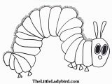The Very Hungry Caterpillar Coloring Page Hungry Caterpillar Drawing at Getdrawings
