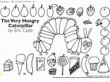 The Very Hungry Caterpillar Coloring Page the Very Hungry Caterpillar Coloring Pages Printables