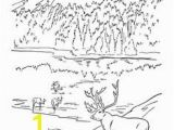 Theme Park Coloring Pages Serenity Jasper Landscape Printable Coloring Page Canoe Mountain