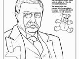 Theodore Roosevelt Coloring Page Coloring Books