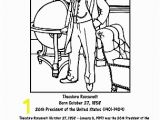 Theodore Roosevelt Coloring Page theodore Roosevelt Wordsearch and Worksheets