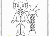 Thomas Edison Coloring Pages Technology History Teaching Resources