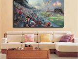 Thomas Friends Wall Mural 2019 Nascar Thunder by Thomas Kinkade Hd Canvas Posters Prints Wall Art Painting Decorative Picture Modern Home Decoration Artwork From Iwallart