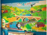 Thomas Friends Wall Mural 49 ] Thomas the Train Wallpaper Border On Wallpapersafari