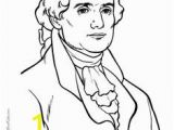 Thomas Jefferson Coloring Page 41 Best President S Day Images