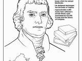 Thomas Jefferson Coloring Page American Presidents Coloring Book President Thomas Jefferson