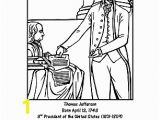 Thomas Jefferson Coloring Page Thomas Jefferson Word Search Coloring Pages and More