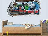 Thomas the Tank Engine Wall Mural Amazon Thomas the Tank & Friends Smashed Wall Decal Graphic