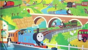 Thomas the Tank Engine Wall Mural York Wall Coverings York Wallcoverings Thomas the Tank Engine