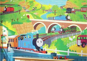 Thomas the Tank Engine Wall Mural York Wall Coverings York Wallcoverings Thomas the Tank Engine