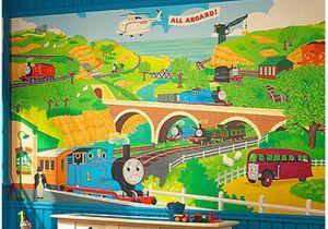 Thomas the Tank Engine Wall Murals Thomas the Train Wallpaper Border Wallpapersafari