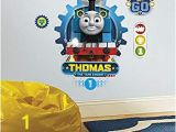 Thomas the Tank Wall Mural Amazon Thomas the Tank & Friends Smashed Wall Decal Graphic