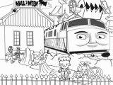 Thomas the Train Halloween Coloring Pages Free Halloween Coloring Pages Printable to Color