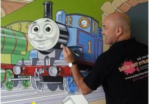 Thomas the Train Mural 8 Best Thomas and Friends Mural Images