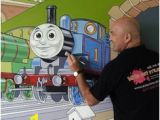 Thomas the Train Wall Mural 8 Best Thomas and Friends Mural Images