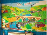 Thomas the Train Wall Mural Thomas the Train Wallpaper Border Wallpapersafari