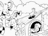 Three Billy Goats Gruff Troll Coloring Pages Three Billy Goats Gruff Worksheets