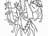 Three Kings Day Coloring Pages Christmas Coloring Pages