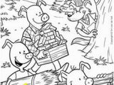 Three Little Pigs Coloring Pages Disney 125 Best Preschool Three Little Pigs Images