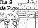 Three Little Pigs Coloring Pages Pdf Bathroom 64 Fabulous Three Little Pigs Coloring Pages