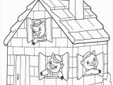 Three Little Pigs Coloring Pages Pdf Three Little Pigs Coloring In Case Of Indoor Recess