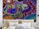 Tie Dye Wall Mural Amazon Chengsan Hamsa Decor Tapestry Praying Hands Paisley