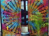 Tie Dye Wall Mural Tie Dye Curtains