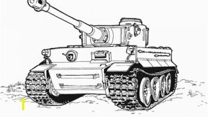 Tiger Tank Coloring Pages Tiger Tank Coloring Page
