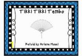 Tikki Tikki Tembo Coloring Pages Tikki Tikki Tembo Free Small Group Unit