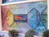 Tile Mural Creative Arts Mosaic Artist – Ellen Blakeley – Tempered Glass Mosaic Mural – San
