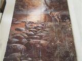 "Tile Murals for Kitchens Beside Still Waters Tile Mural On 6"" Tiles at £216"