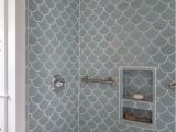 Tile Murals for Shower Style forecast Ogee Drop Showers Installation Gallery