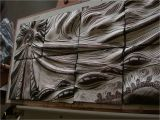 Tile Wall Art Mural Carved Ceramic Tile