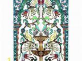Tile Wall Art Mural Golden Fountain Birds 6 Tile Ceramic Wall Mural Arts