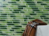 Tile Wall Art Mural Hand Painted Outdoor Feature Art Crystal Mosaic Glass Decor