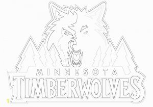 Timberwolves Coloring Pages 28 Collection Of Mn Timberwolves Coloring Pages