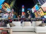 Times Square Wall Mural Us $13 34 Off Manhatan nowy nowy Jork Times Square Zaprasza Cię Do Odwiedzenia Następujących Miast Tapety Pok³j Dzienny Kanapa Tv Wall Sypialnia