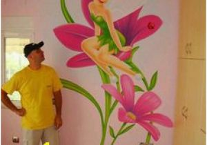 Tinkerbell Murals 26 Best Tinkerbell Room Images