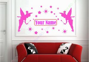 Tinkerbell Murals Aliexpress Buy Personalized Name Fairies Fairy Tinkerbell